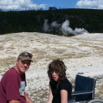 Lee's trip to Yellowstone with his family